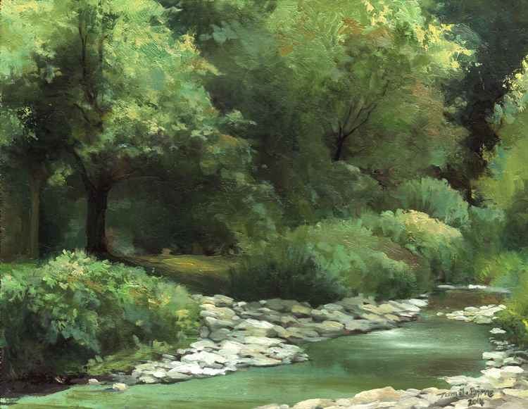 River Greens, Tuscany -