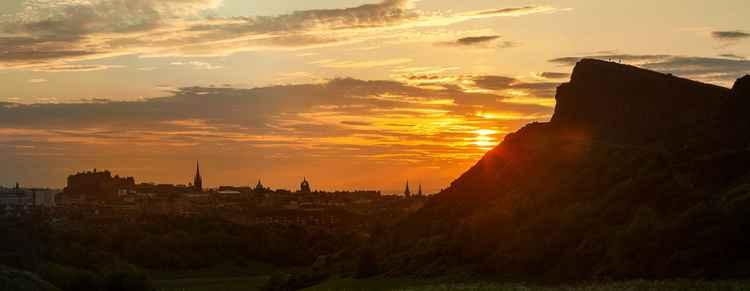 Edinburgh Silhouette -