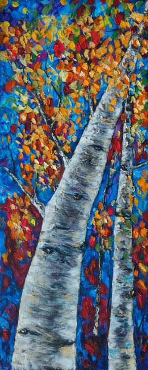 Fall in Rockies - Left panel - Image 0