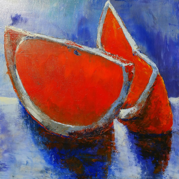 Slices of  one Orange - Image 0