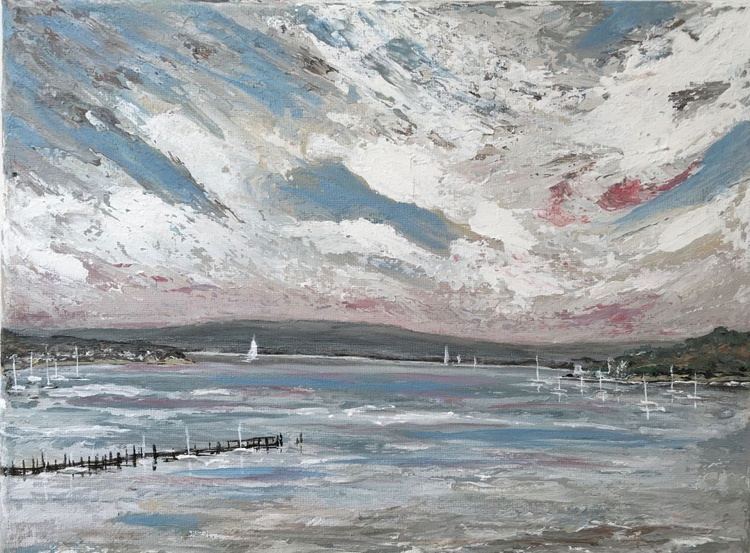 Evening Hill in Poole Harbour - Image 0