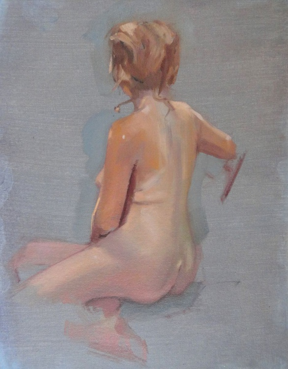 Nude at Rest - Image 0
