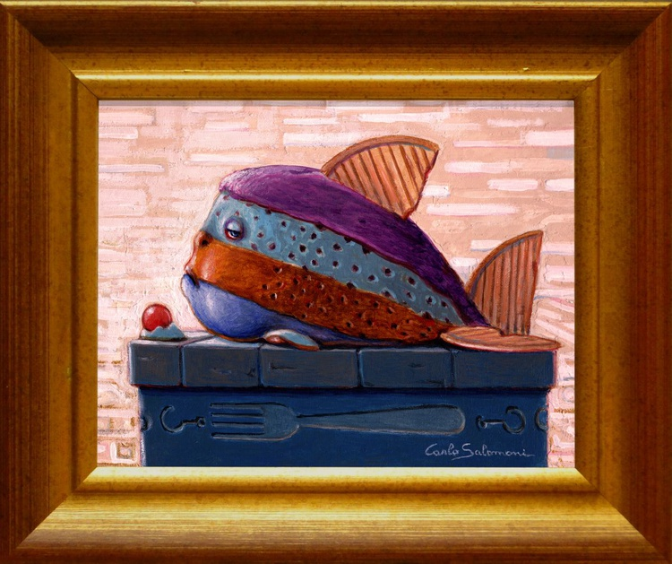 CAKE FISH - IL PESCE TORTA. - Image 0