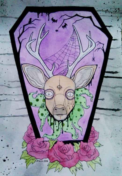 Satan's Little Helper - Deer