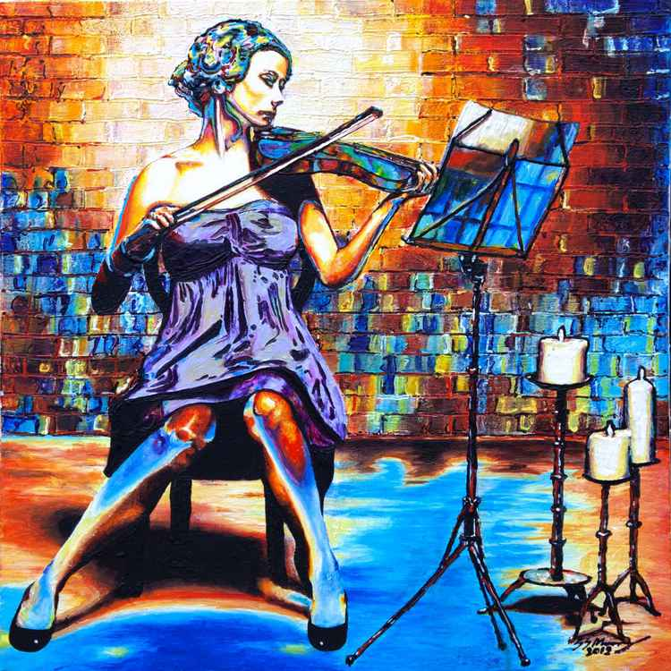 The Colours of Music. The Violinist -