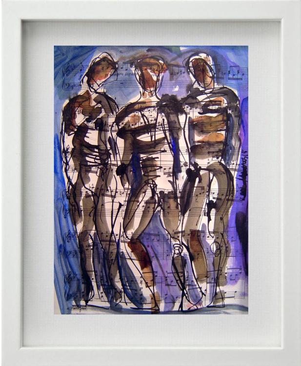 Three Male Figures 4 - Image 0