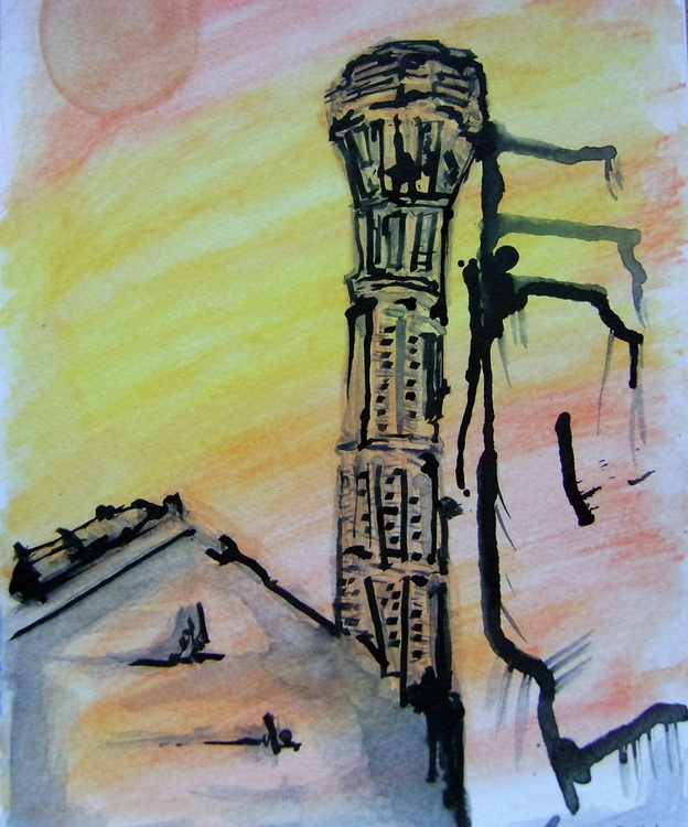 Early evening tower - Image 0