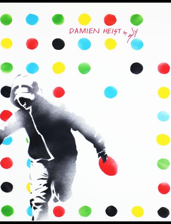 Damien Heist (On Paper) - Image 0