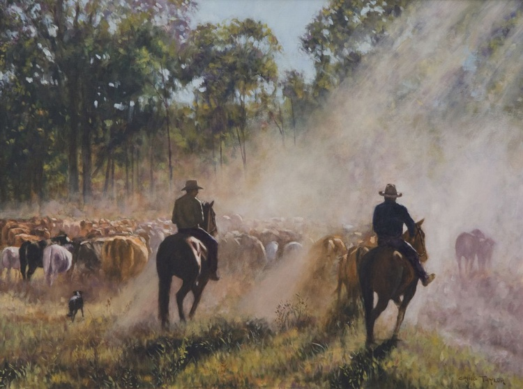 A Cattle Muster - Image 0
