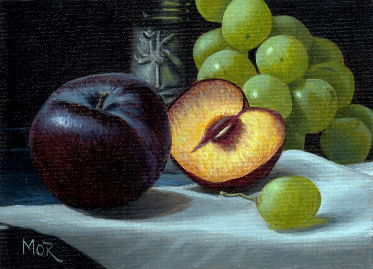 Plums and Grapes - Image 0
