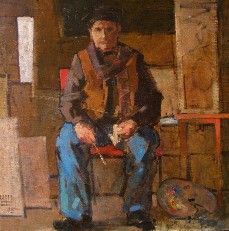 The Old Painter. Etude - Image 0