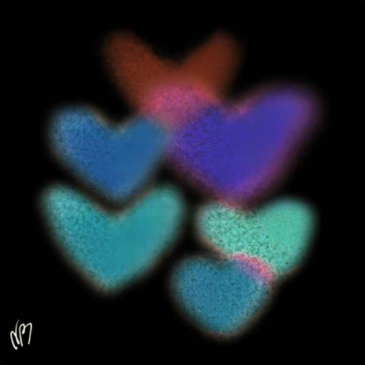 Digital Hearts -