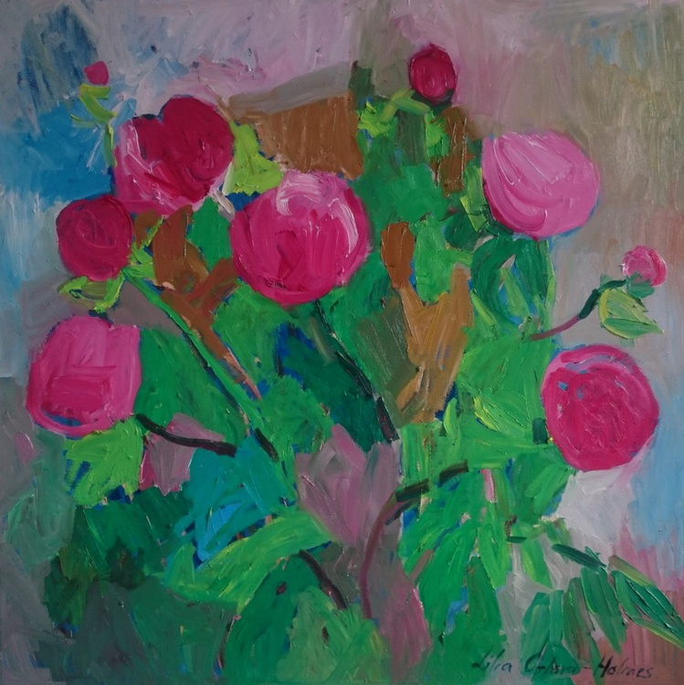 Pink peonies - Image 0