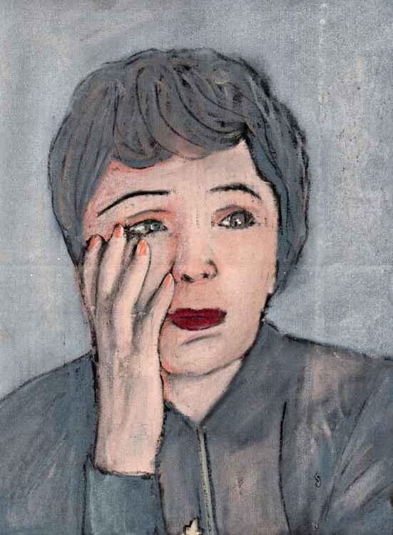Sad Edith Piaf
