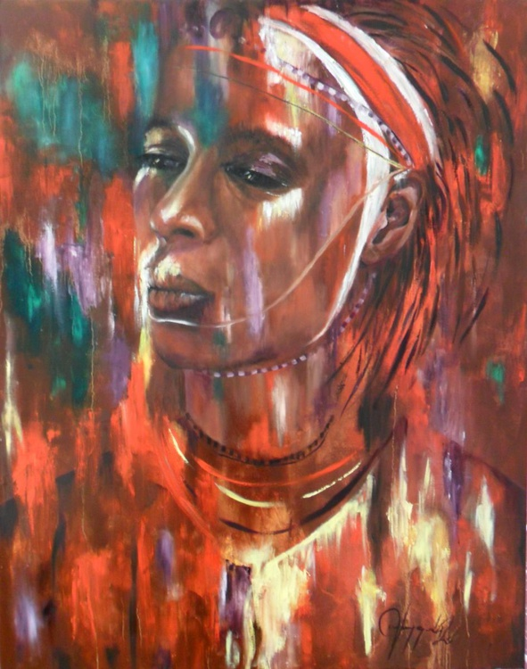 Maasai warrior - Image 0