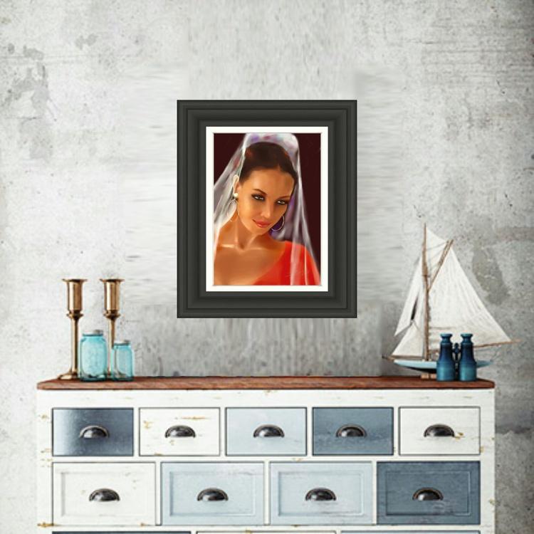 Flamenca with Veil - Image 0