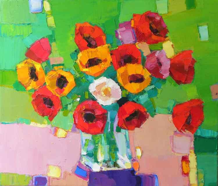 Anemons ( Poppys )