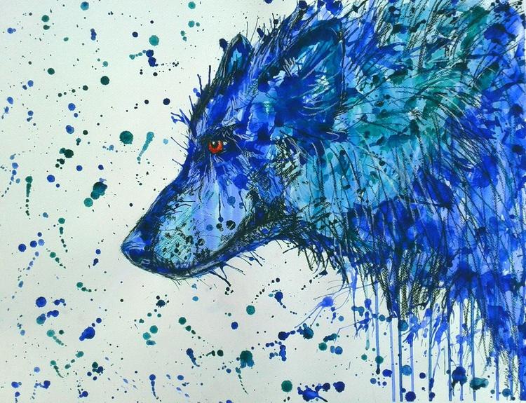 """Blue wolf"" - Image 0"