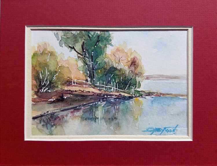 River Landscape -