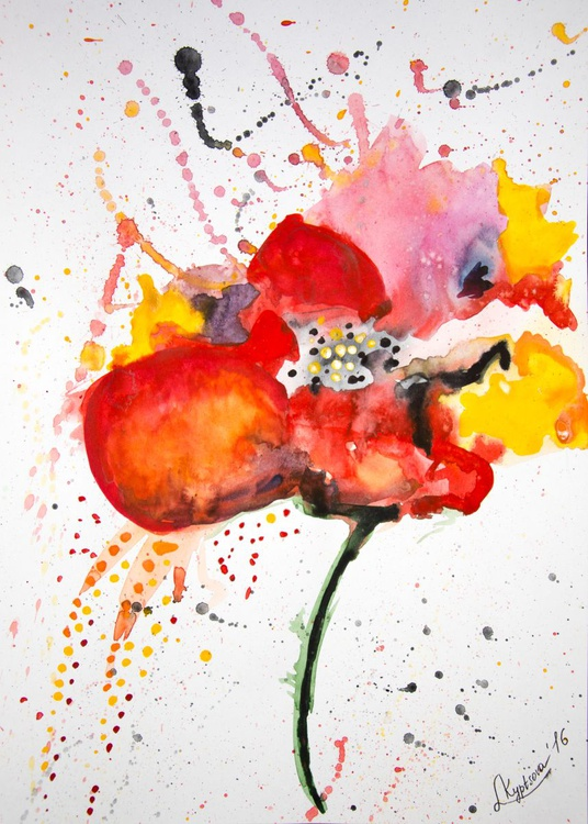 Abstract poppy - Image 0