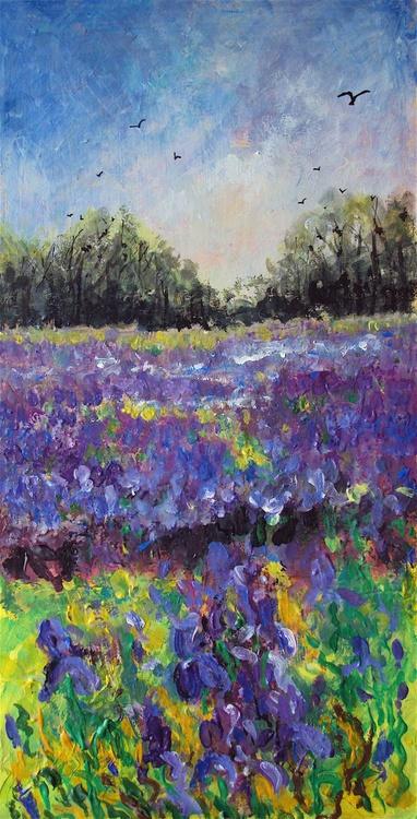 Irises & Rooks - Image 0