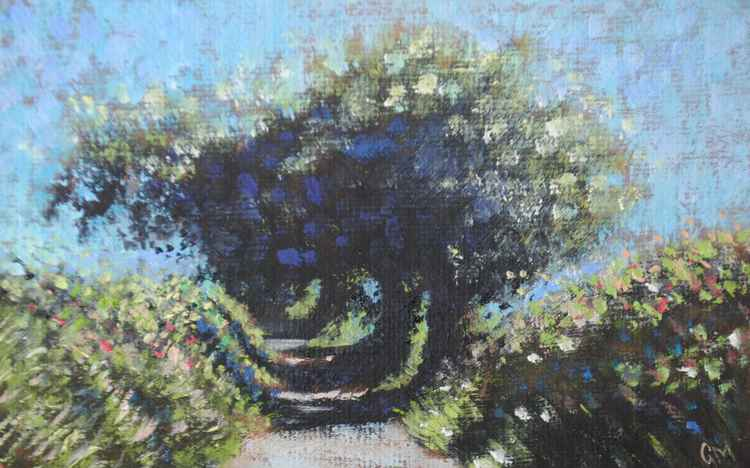 Waterwynch Lane (#9 Postcards from Pembrokeshire) -