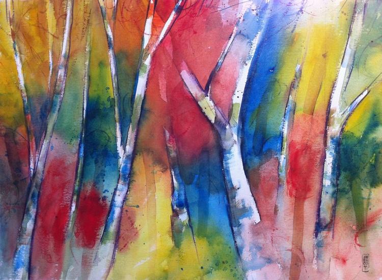 Alberi nel bosco - Image 0