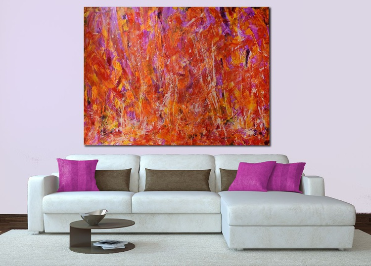 """Crystalline Pink and Golden Fields. """"COMPLEX AND POWERFUL"""" - Image 0"""