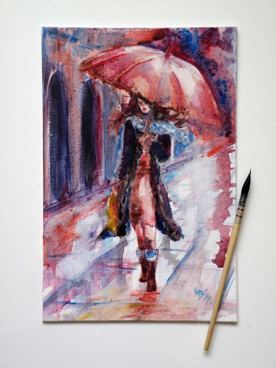 Walk in rain - Image 0