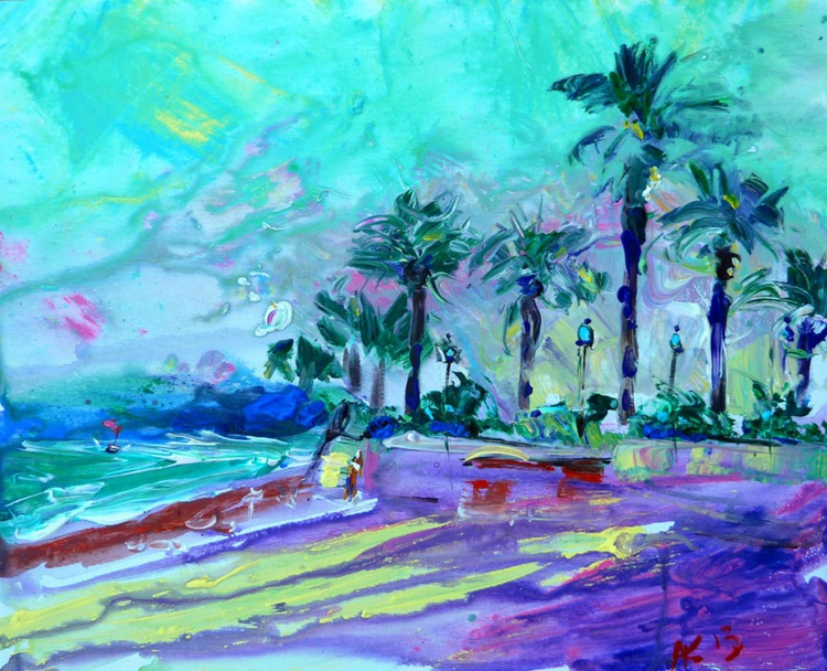 Palm trees by the sea - Image 0