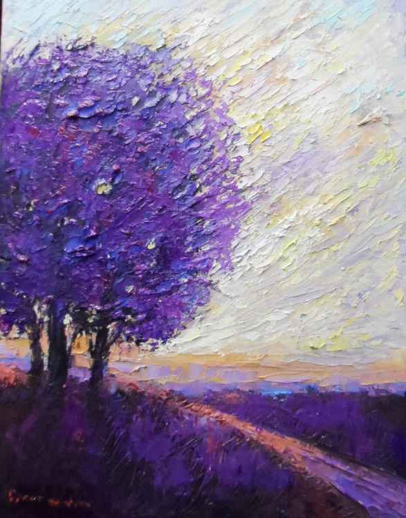 purple tree.....
