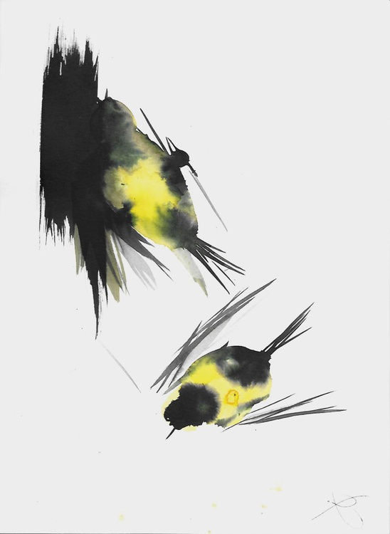 The Birds of Carros #57, 21x29 cm - Image 0