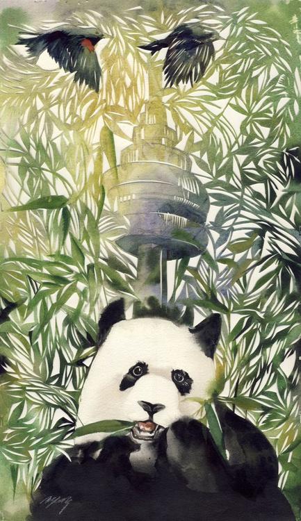 panda in the city - Image 0