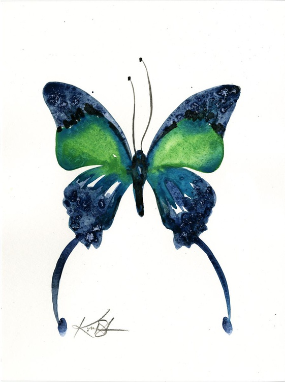 Watercolor Butterfly 6 - Abstract Butterfly Watercolor Painting - Image 0