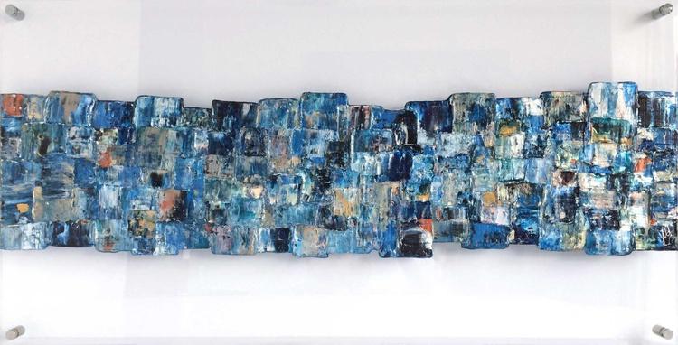 Interwoven Blue - Image 0
