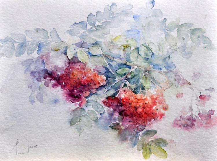 ROWAN original watercolour 32x24 - Image 0