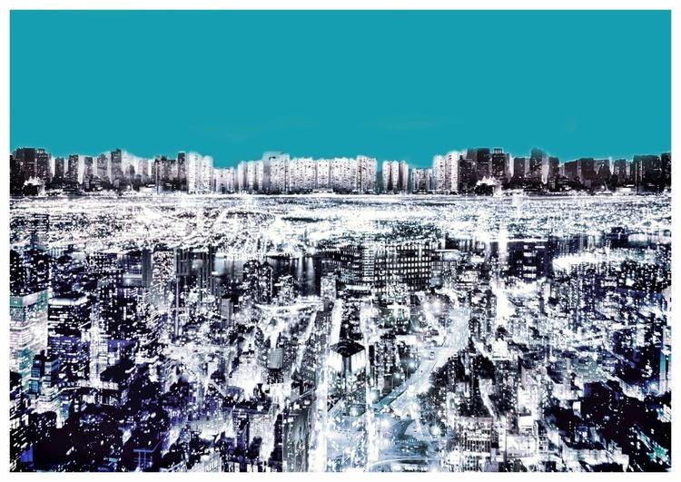 Blue City  IV - Image 0