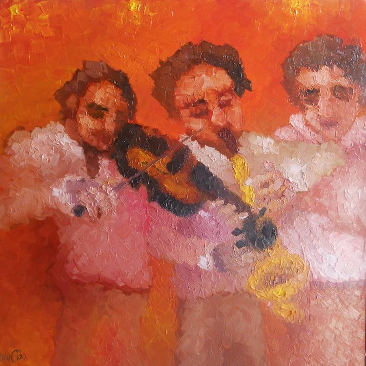 THREE MUSICIANS - Image 0