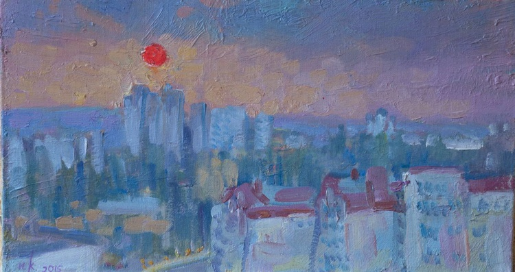 The sunset in summer - Image 0