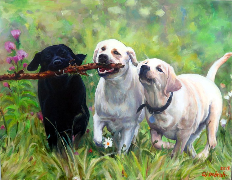 Three Friends - Image 0