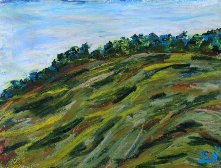 "Green Hills 8""x10"" (20.32x25.4cm) -"