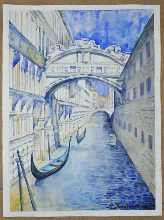The Bridge of Sight in Venice -