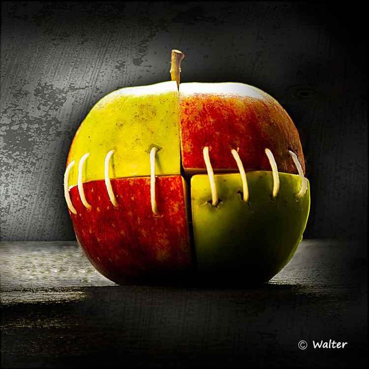 """"""" La pomme de Frankenstein """""""