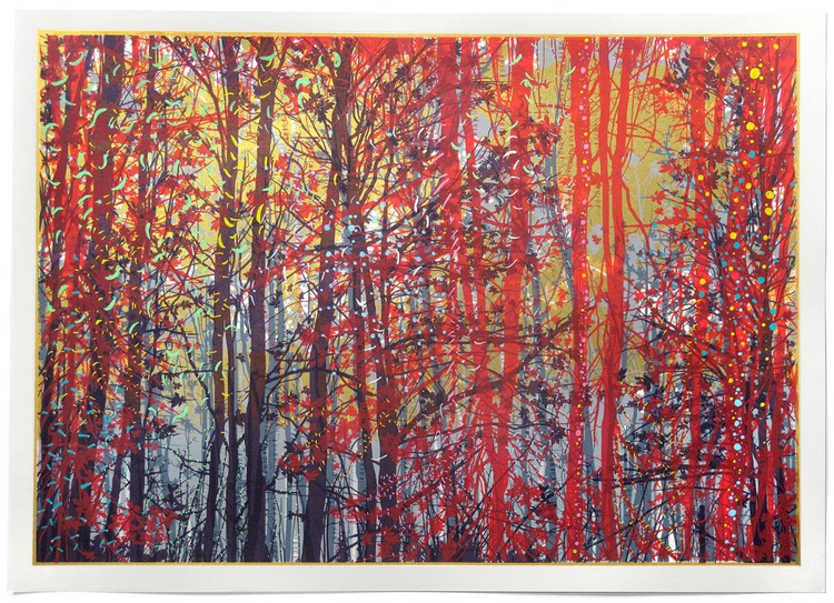 The Red Forest. - Image 0