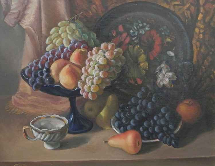 Still life with cup -