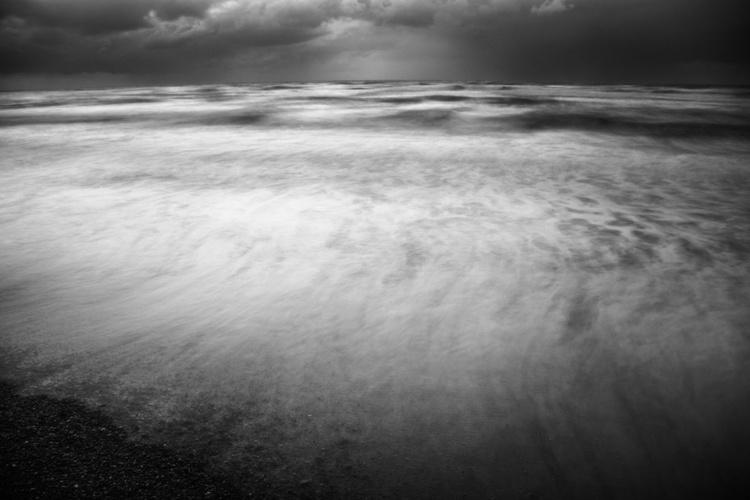 """Winter storm over Sidni Ali beach 2016 1"" - Image 0"