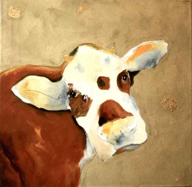 Golden cow