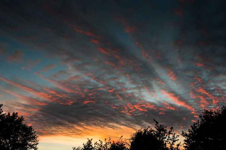 Sunset over Somerset