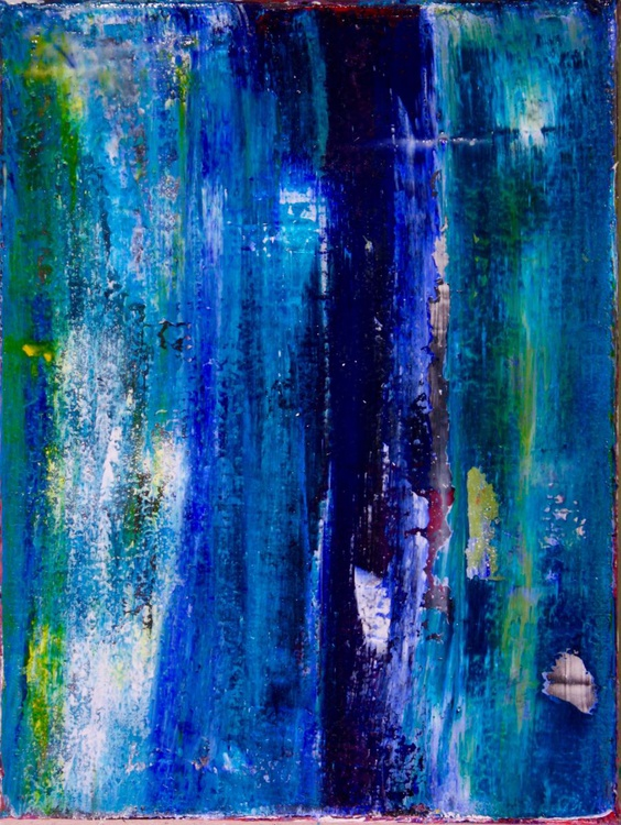 Aqua colorfield - Image 0