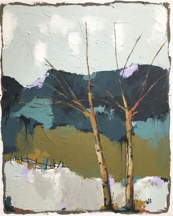 MTN 105, Landscape Painting - Image 0